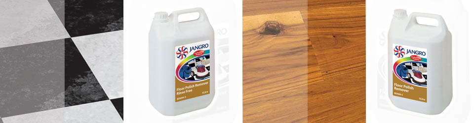 Floor Polish remover works best when following a few simple steps